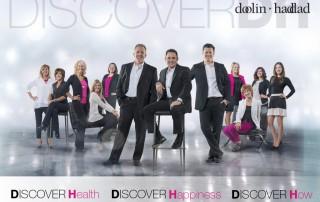 Discover Doolin Haddad slogan and logo - Discover Health, Discover Happiness, Discover How - Doolin Haddad