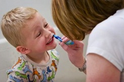brushteeth 10 Tips for Teaching Kids to Care for their Teeth