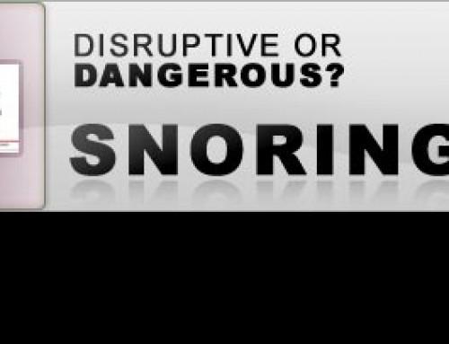 Disruptive or Dangerous? Snoring
