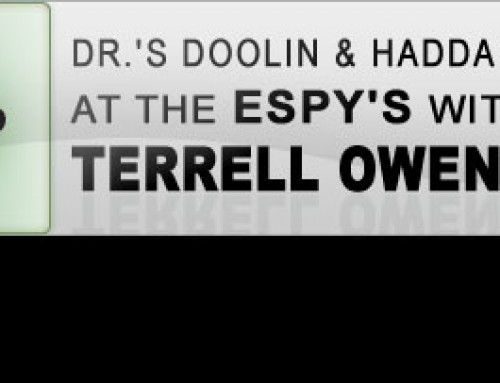 Dr.'s Doolin & Haddad at the Espy's with Terrell Owens