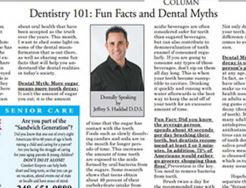 Dentistry 101: Fun Facts and Dental Myths