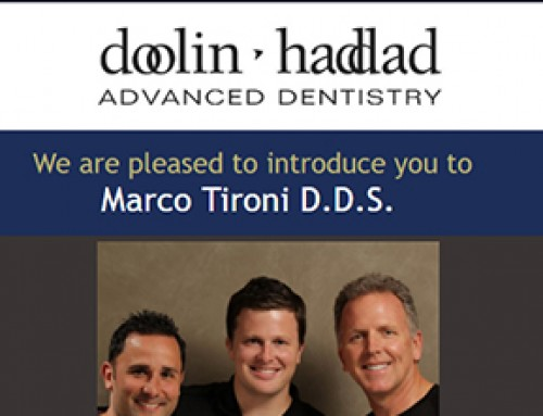 Welcome Dr. Tironi