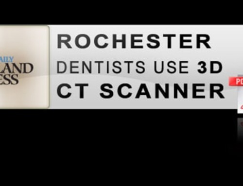 Rochester Dentists Use 3D CT Scanner
