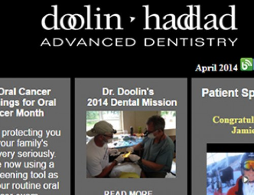 Oral Cancer Awareness Month – April 2014