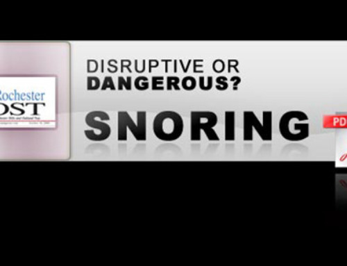 Disruptive or Dangerous? Snoring
