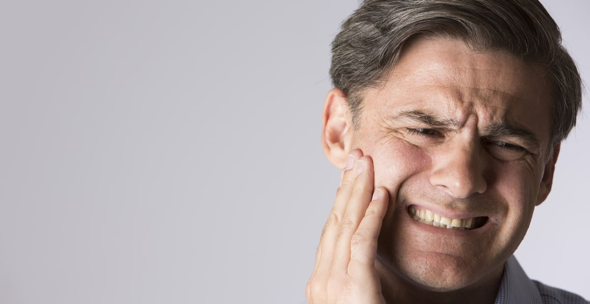 Jaw Pain caused by TMJ Disorder