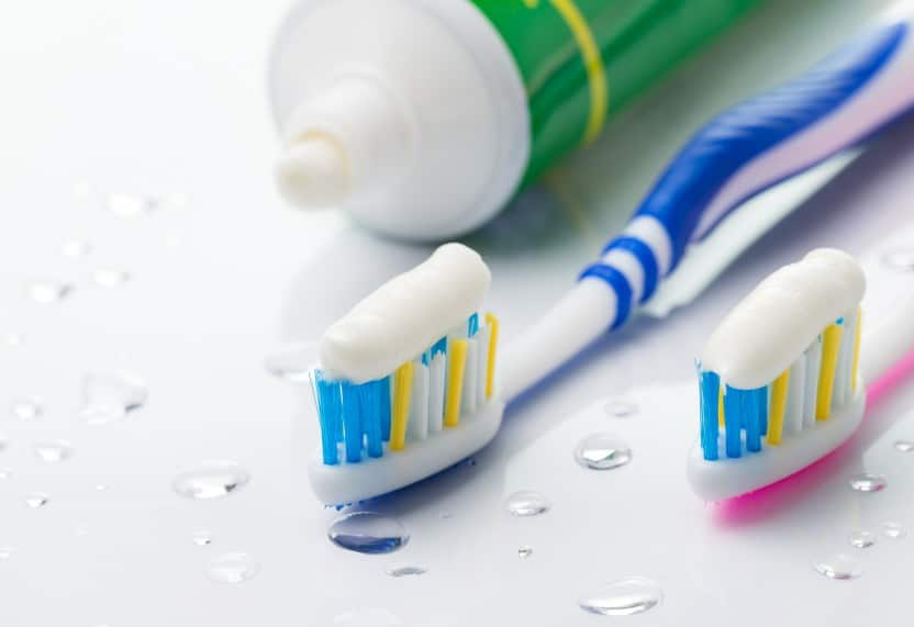toothpaste and toothbrush for optimal tooth care.