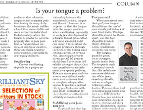 Is your tongue a problem?