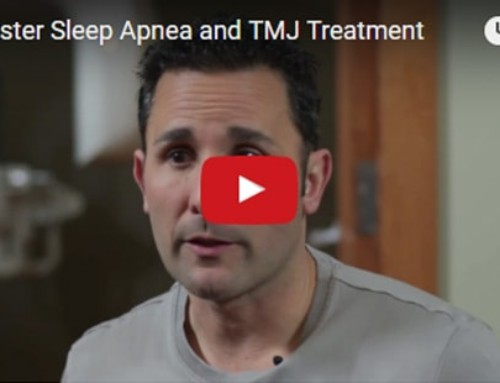 Sleep Apnea And TMJ Treatment