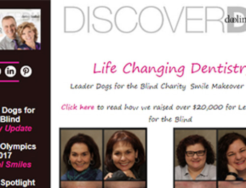 Life Changing Dentistry: Charity Smile Makeover Update – June 2017