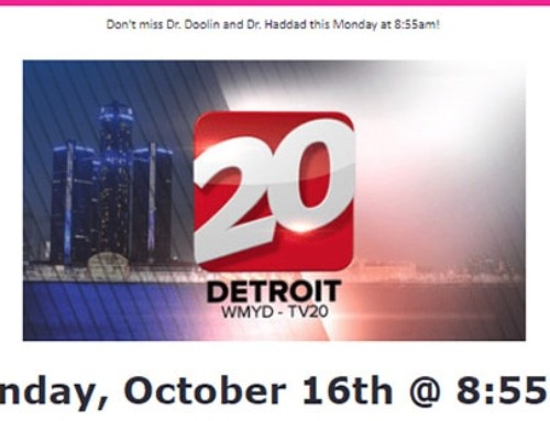 Watch Dr. Doolin and Dr. Haddad in a Channel 20 Showcase – October 2017