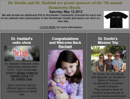 Dr. Doolin's Mission Trip/ Dr. Haddad's Radio Show – April 2012