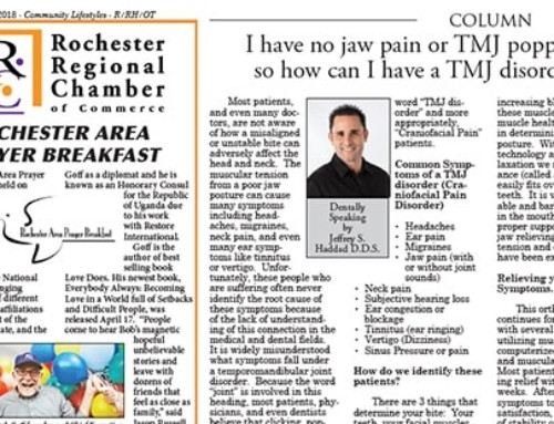 No jaw pain or TMJ popping, but you can still have TMj disorder