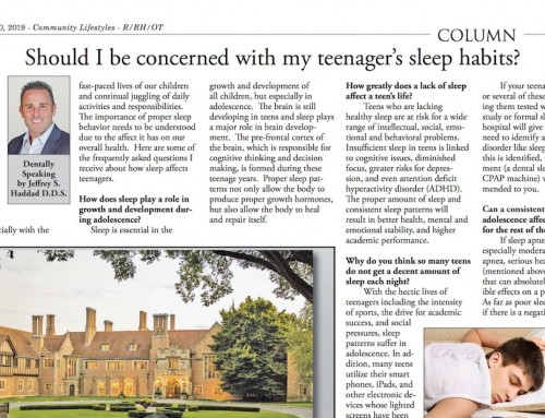 Should I be concerned with my teenager's sleep habits?
