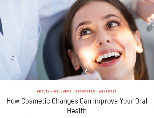 How Cosmetic Changes Can Improve Your Oral Health